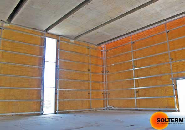 Aislacion termica en muros exteriores solterm aislante - Cual es el mejor aislante termico para techos ...
