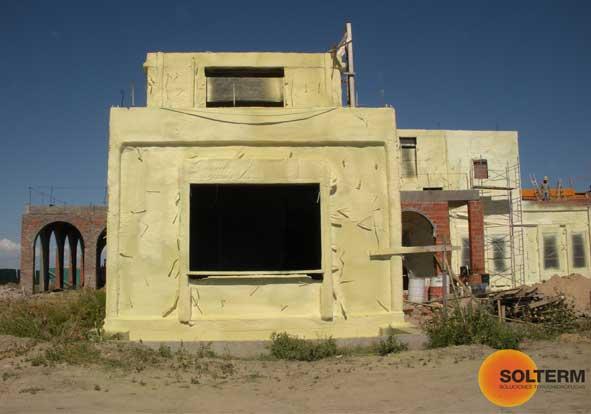 Aislacion termica en muros exteriores solterm aislante - Aislante humedad paredes ...